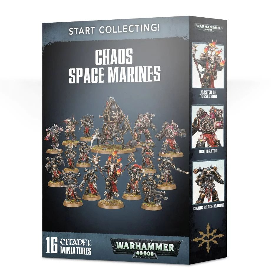 Warhammer 40,000: Chaos Space Marines: Start Collecting! (2019)