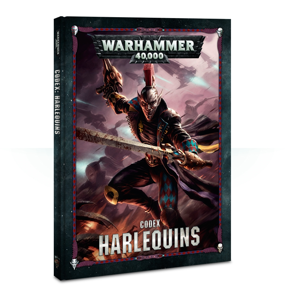 Warhammer 40,000: Codex: Harlequins [Damaged]