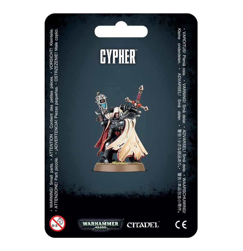 Warhammer 40,000: Chaos Space Marines: Cypher