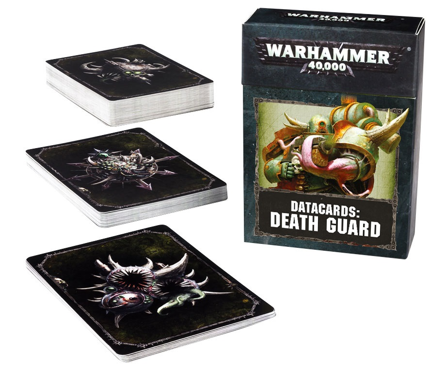 Warhammer 40,000: DATACARDS: DEATH GUARD