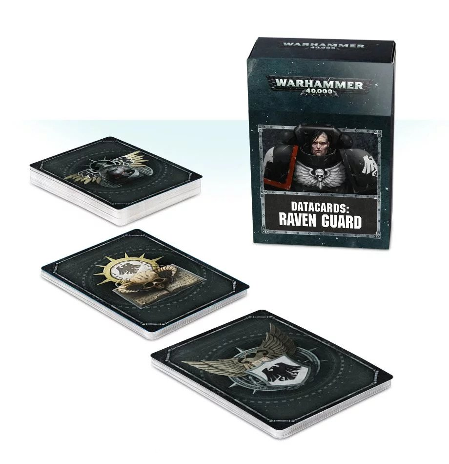 Warhammer 40,000: DATACARDS: Raven Guard