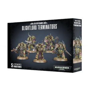 Warhammer 40,000: Death Guard: BLIGHTLORD TERMINATORS