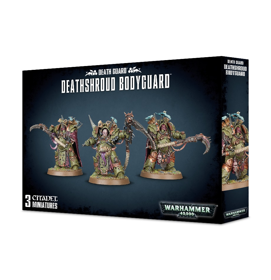 Warhammer 40,000: Death Guard: DEATHSHROUD BODYGUARD