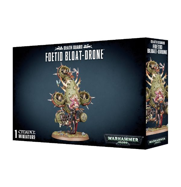 Warhammer 40,000: Death Guard: Foetid Bloat-Drone