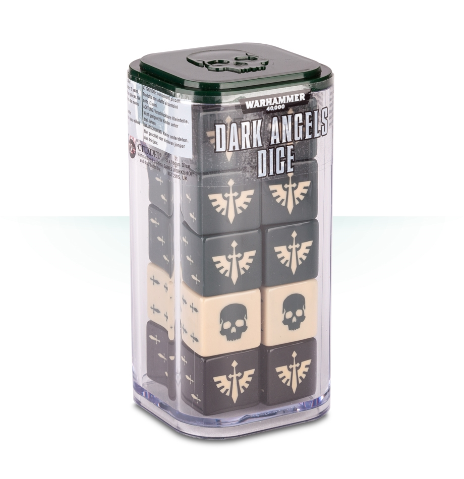 Warhammer 40,000: Dark Angels Dice