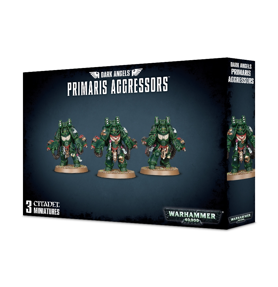 Warhammer 40,000: Dark Angels Primaris Aggressors