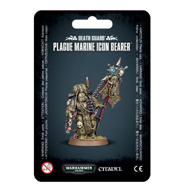 Warhammer 40,000: Death Guard: Plague Marine Icon Bearer