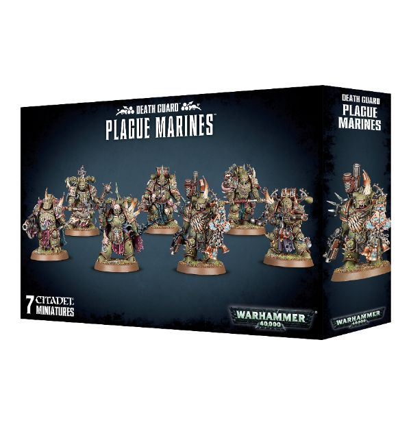 Warhammer 40,000: Death Guard: Plague Marines