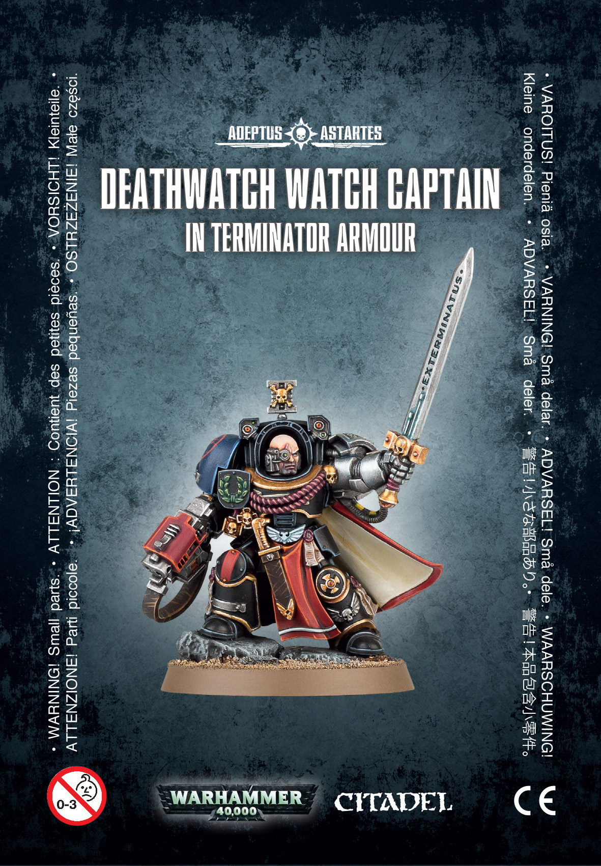 Warhammer 40,000: Deathwatch: Captain Terminator Armour