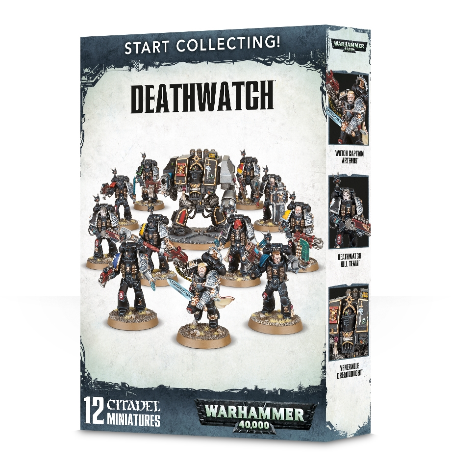 Warhammer 40,000: Deathwatch: Start Collecting!