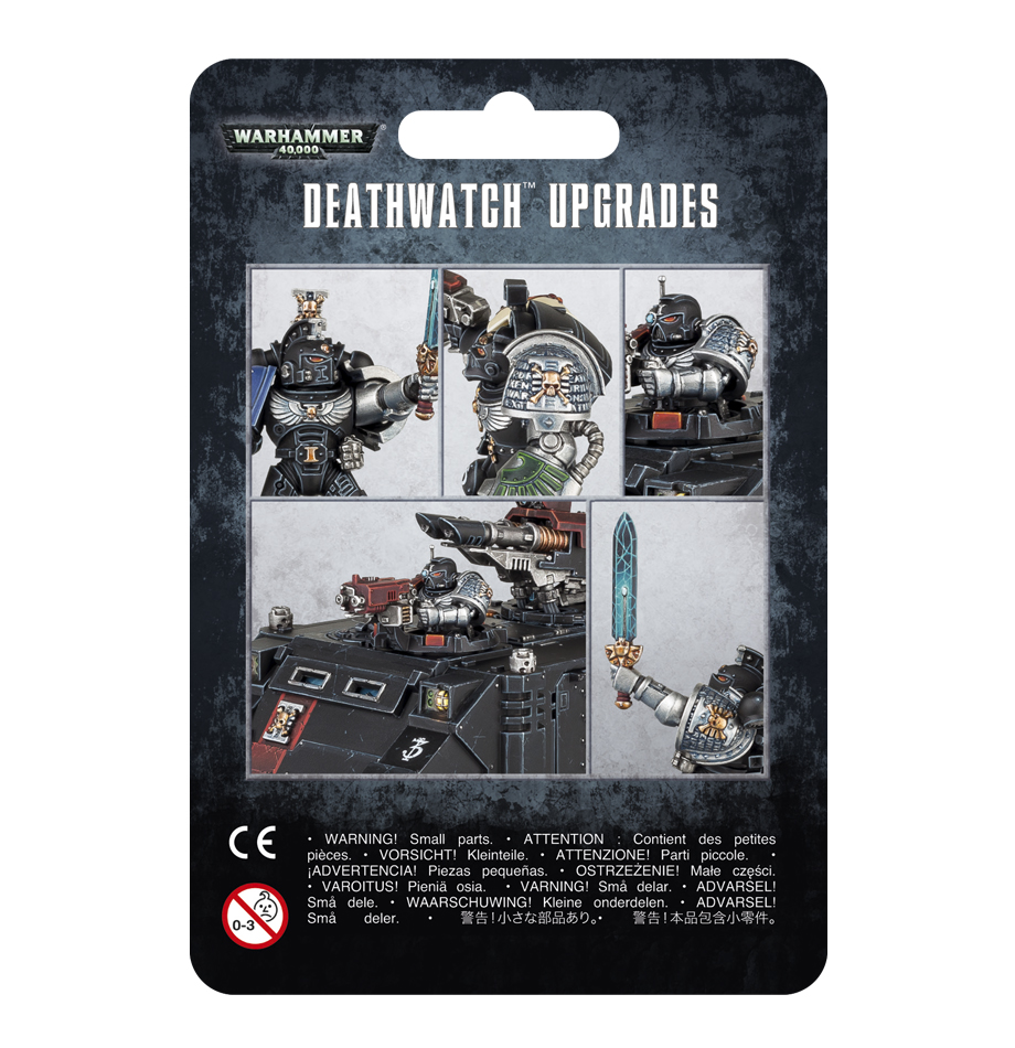 Warhammer 40,000: Deathwatch: Upgrades