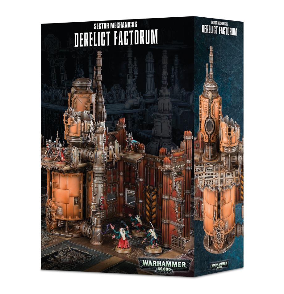 Warhammer 40,000: Sector Mechanicus: Derelict Factorum