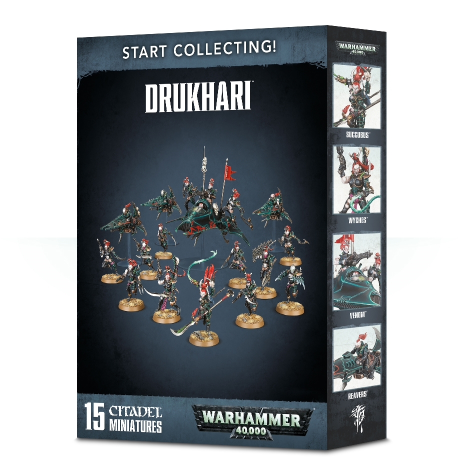 Warhammer 40,000: Drukhari: Start Collecting!