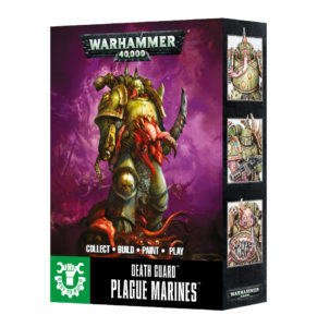 Warhammer 40,000: Easy To Build Death Guard Plague Marines