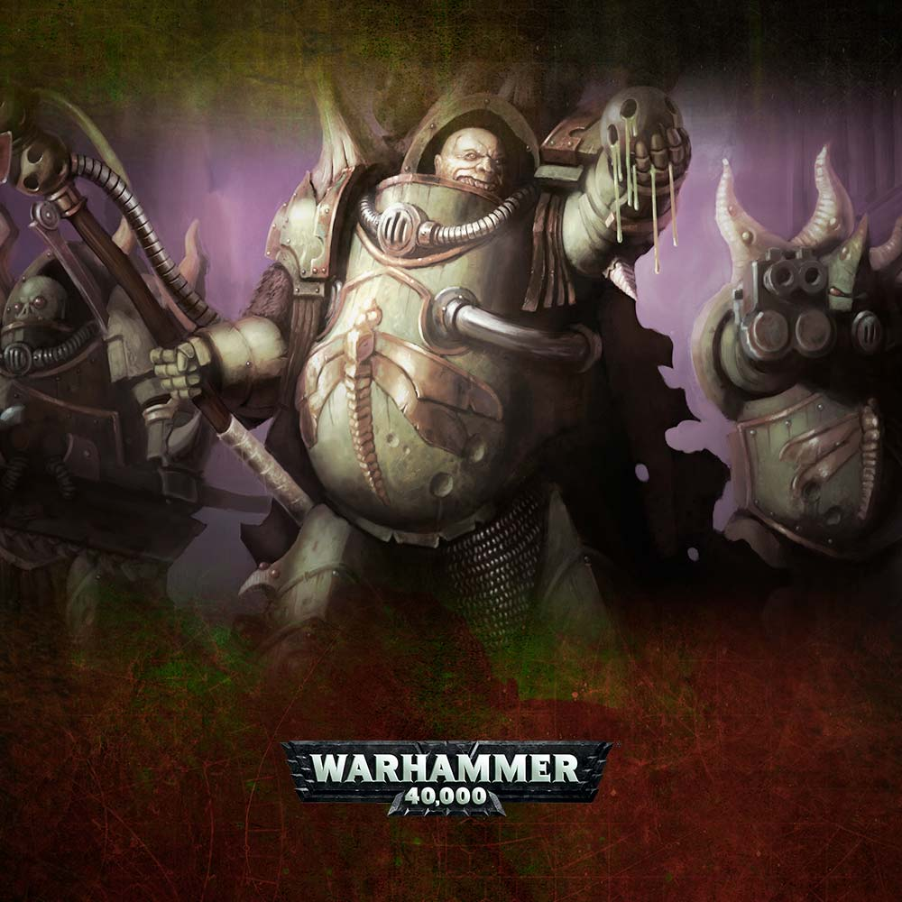 Warhammer 40,000: Easy To Build Lord Felthius and the Tainted Cohort