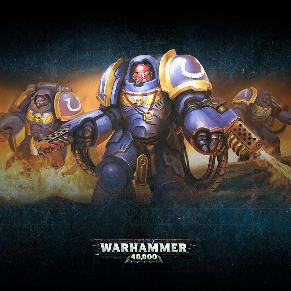 Warhammer 40,000: Easy To Build Space Marines Primaris Aggressors