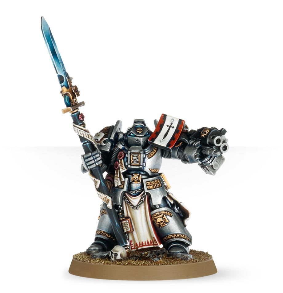Warhammer 40,000: Grey Knights: Brother Captain