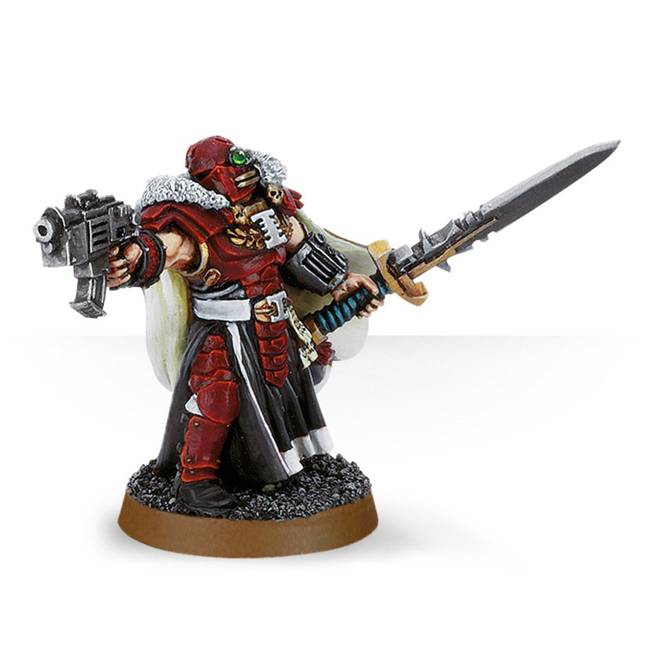 Warhammer 40,000: Grey Knights: Inquisitor with Power Sword and Bolt Pistol