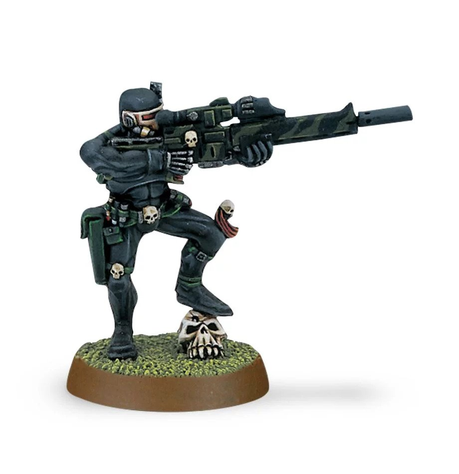 Warhammer 40,000: Inquisition: Vindicare with Exitus Rifle