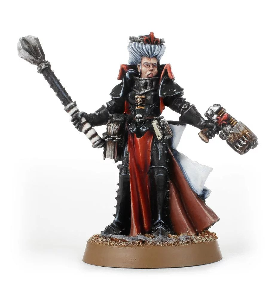 Warhammer 40,000: Inquisition: Witch Hunter Inquisitor with Plasma Pistol
