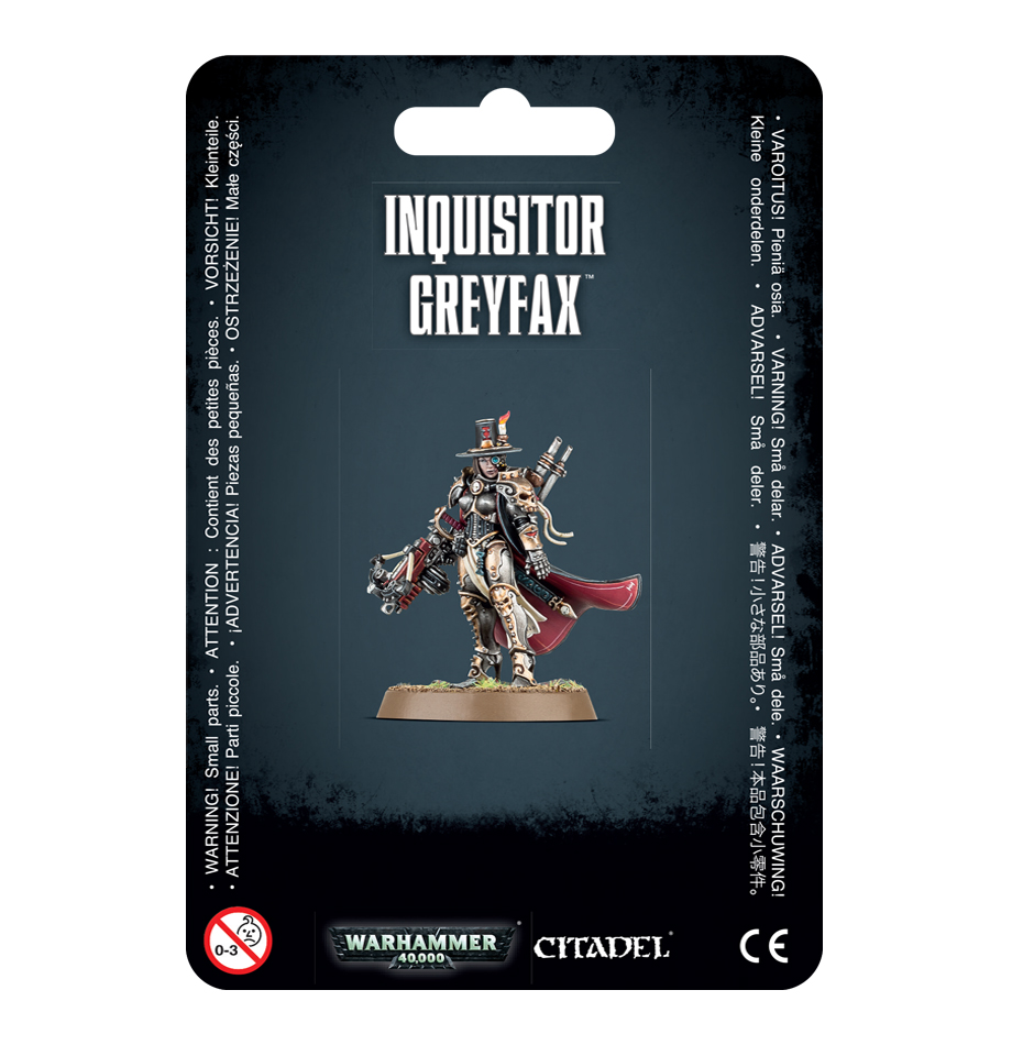 Warhammer 40,000: Inquisitor Greyfax