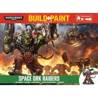 Warhammer 40,000: Orks: Build+Paint: Space Ork Raiders