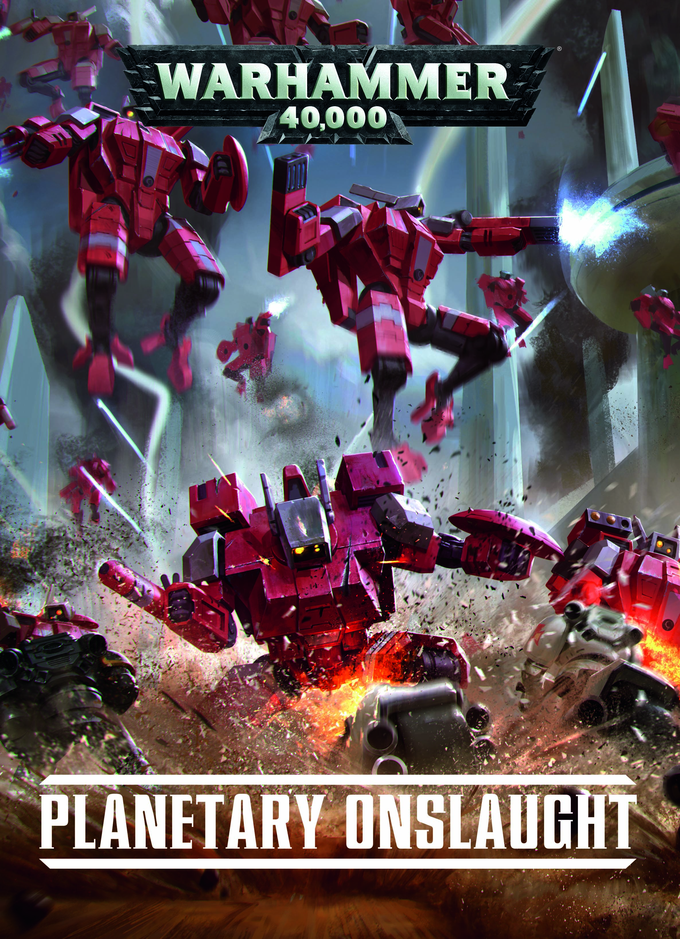 Warhammer 40,000: Planetary Onslaught (HB) (7th Edition) [SALE]
