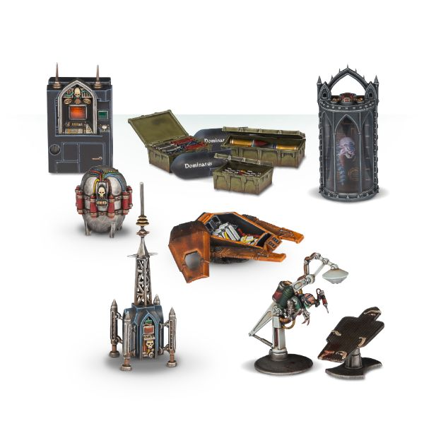 Warhammer 40,000: Sector Imperialis: Objectives