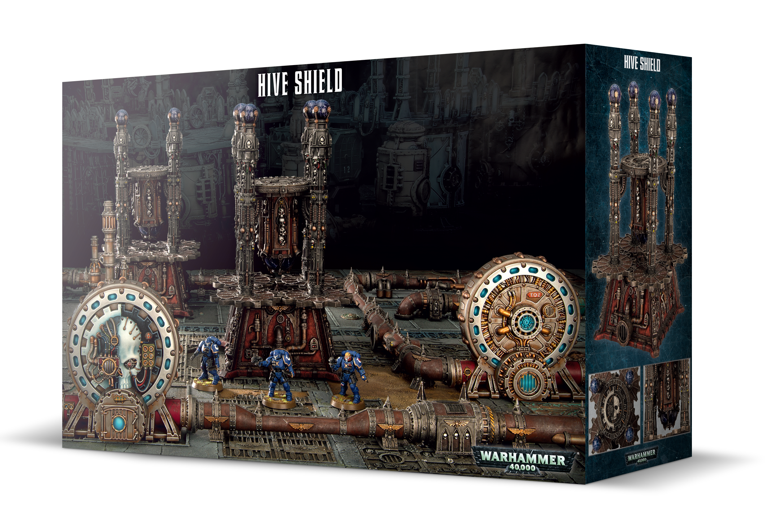 Warhammer 40,000: Sector Mechanicus Hive Shield