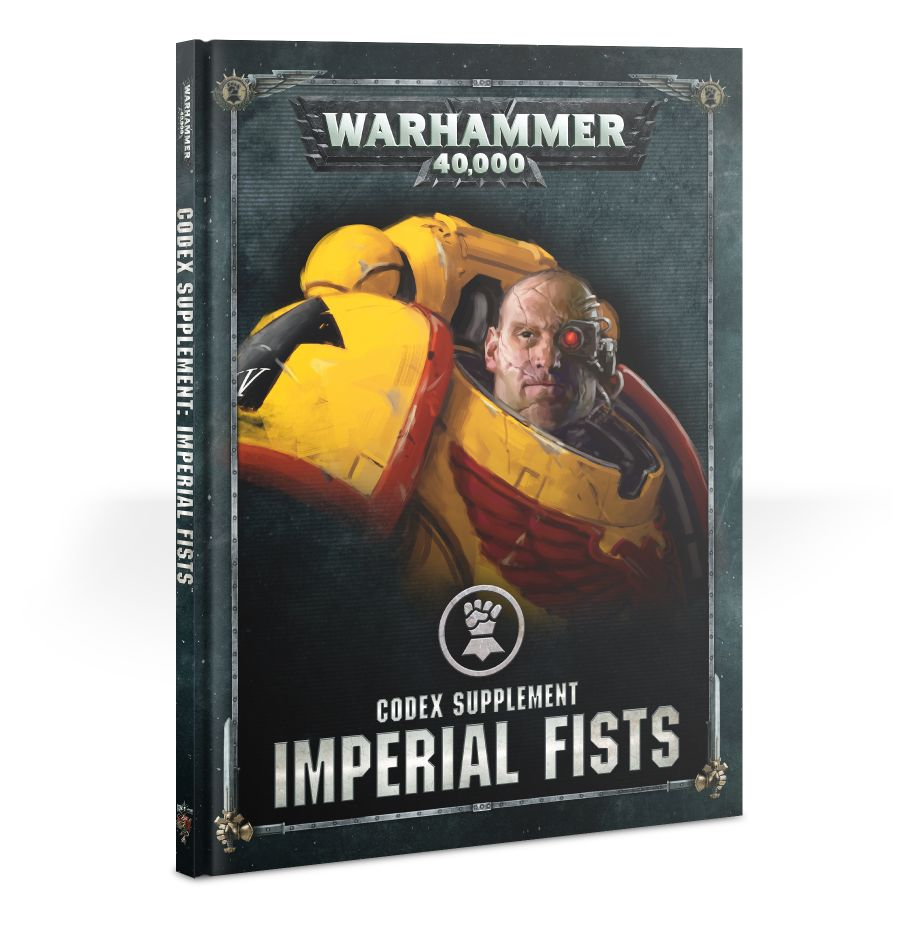 Warhammer 40,000: Space Marines: CODEX: Imperial Fists
