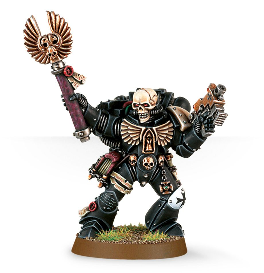 Warhammer 40,000: Space Marines: Chaplain with Skull Helmet