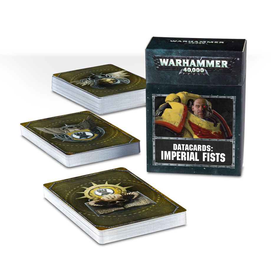 Warhammer 40,000: Space Marines: Datacards: Imperial Fists