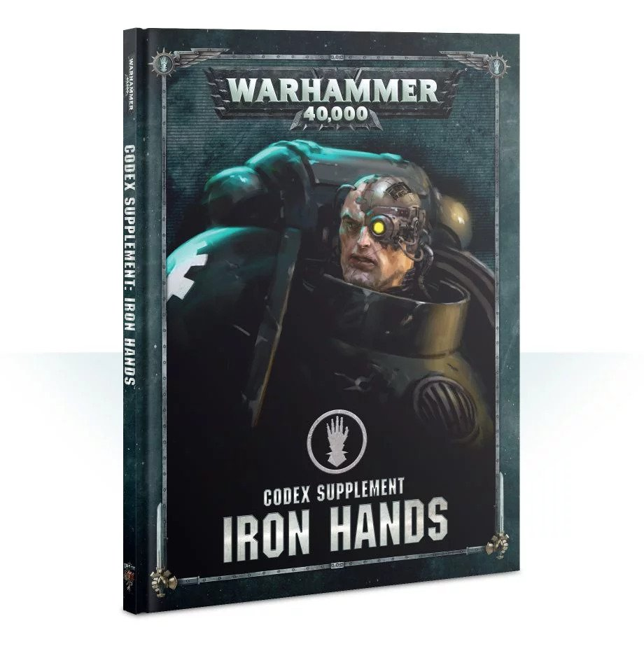 Warhammer 40,000: Space Marines: Iron Hands Codex