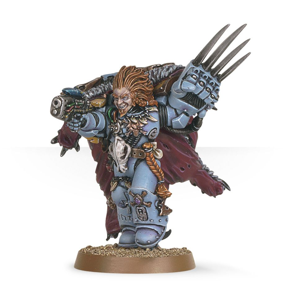 Warhammer 40,000: Space Wolves: Lukas The Trickster