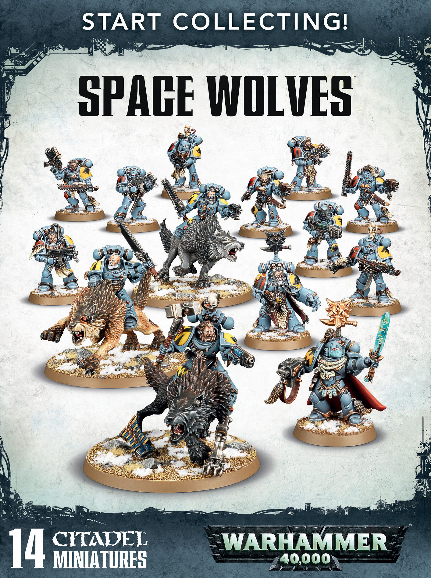 Warhammer 40,000: Space Wolves: Start Collecting!