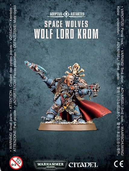Warhammer 40,000: Space Wolves: Wolf Lord Krom