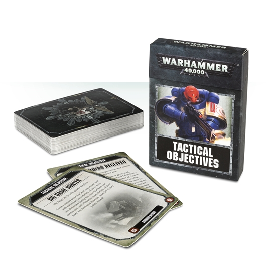 Games Workshop - Warhammer 40,000: Tactical Objective Cards
