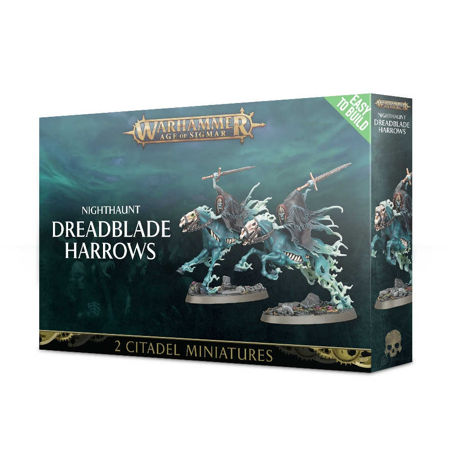 Warhammer Age Of Sigmar: Easy to Build: Nighthaunt: Dreadblade Harrows