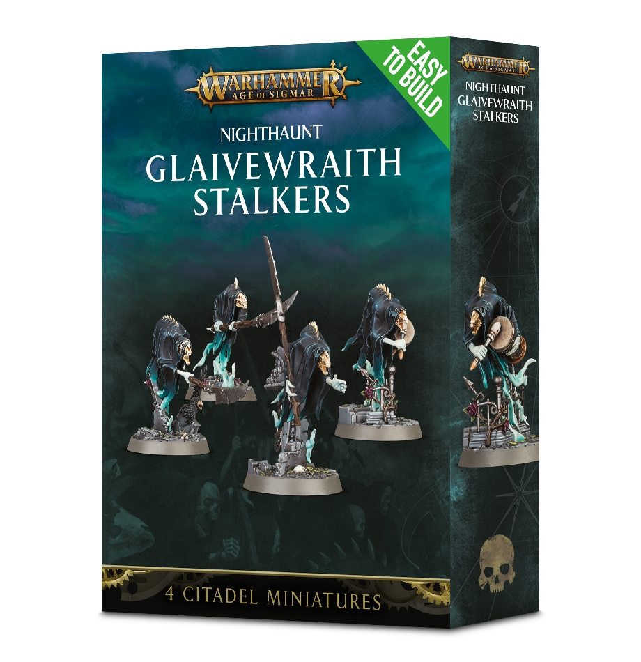 Warhammer Age Of Sigmar: Easy to Build: Nighthaunt: Glaivewraith Stalkers