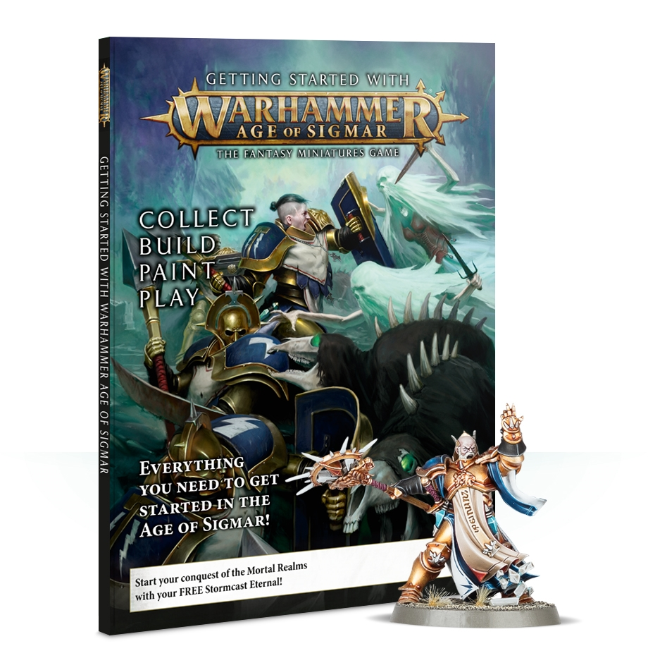 Warhammer Age Of Sigmar: Getting Started with Warhammer Age of Sigmar