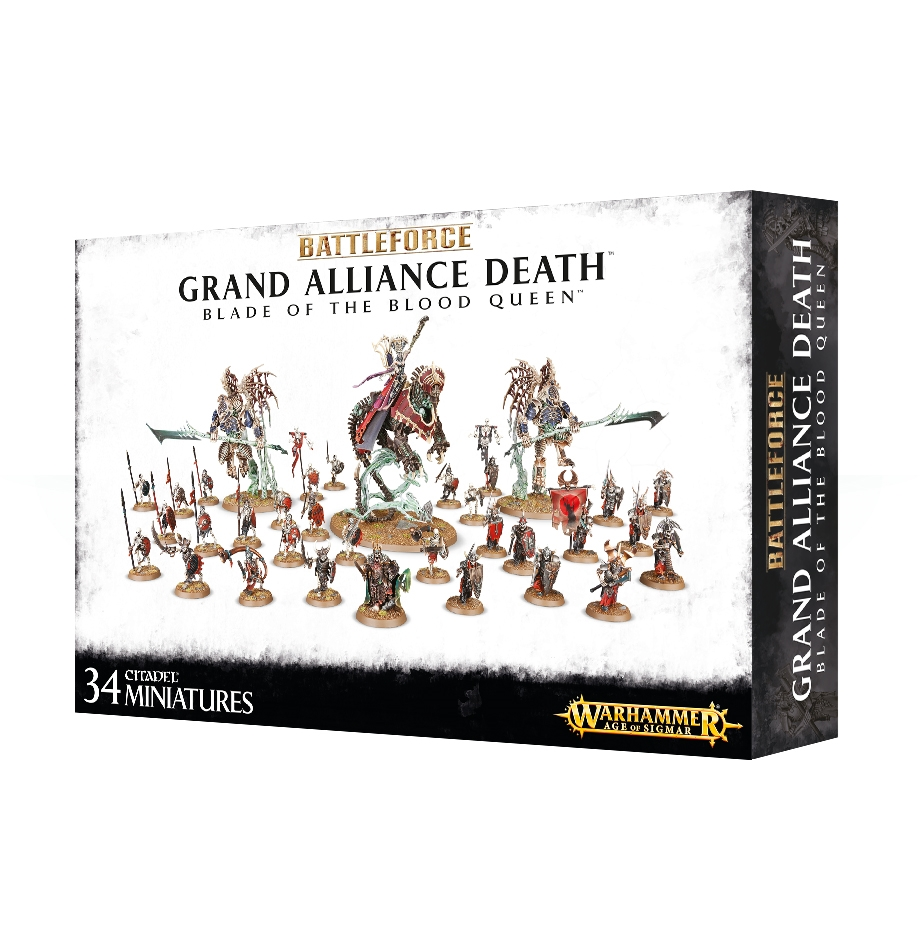 Warhammer Age of Sigmar: Battleforce: Blade of the Blood Queen