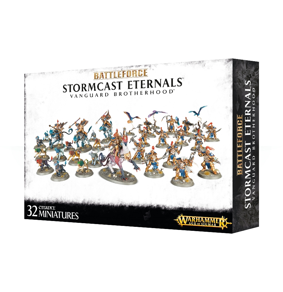 Warhammer Age of Sigmar: Battleforce: Stormcast Eternals Vanguard Brotherhood