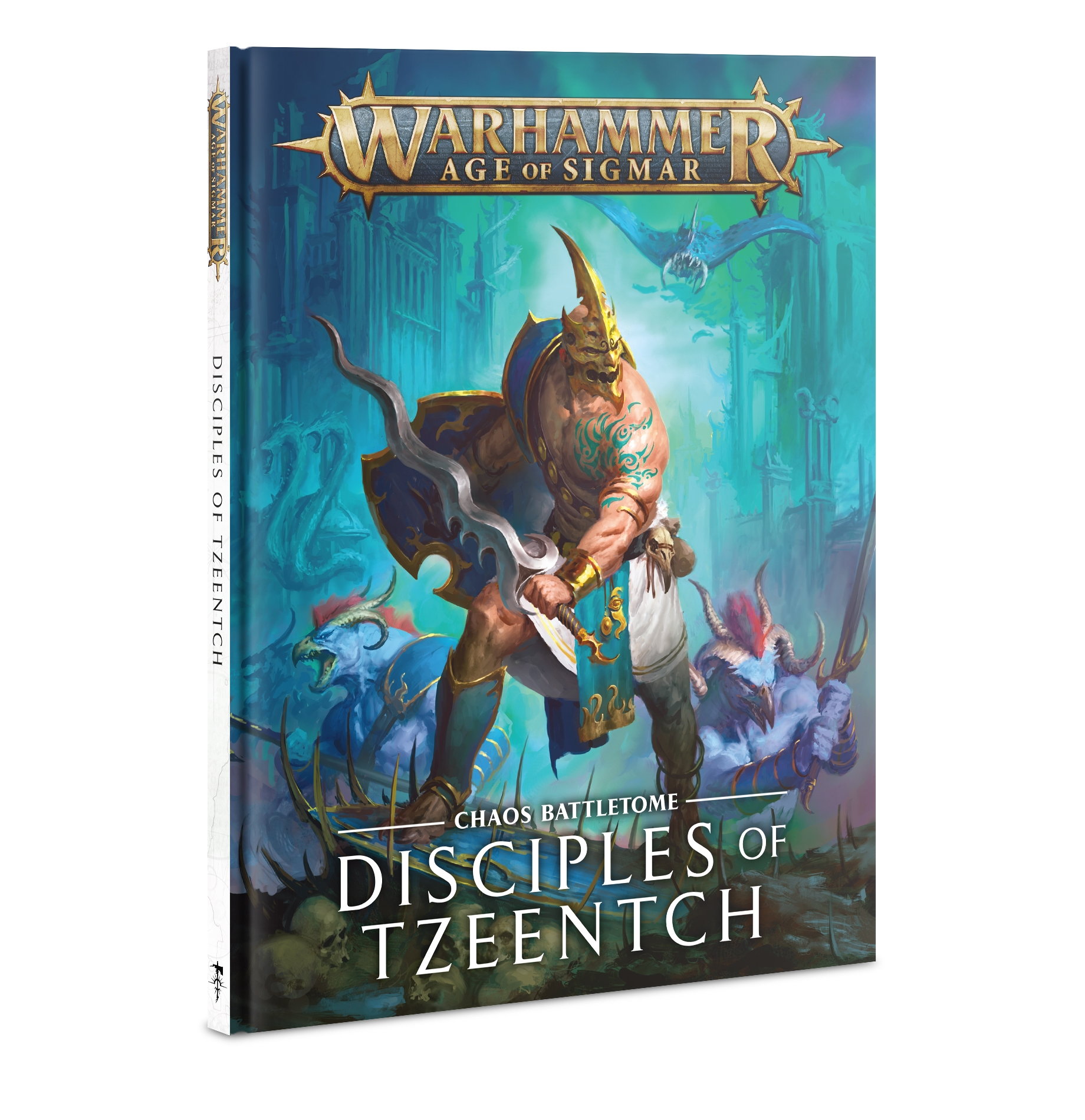 Warhammer Age of Sigmar: Battletome- DISCIPLES OF TZEENTCH (2020 Edition)