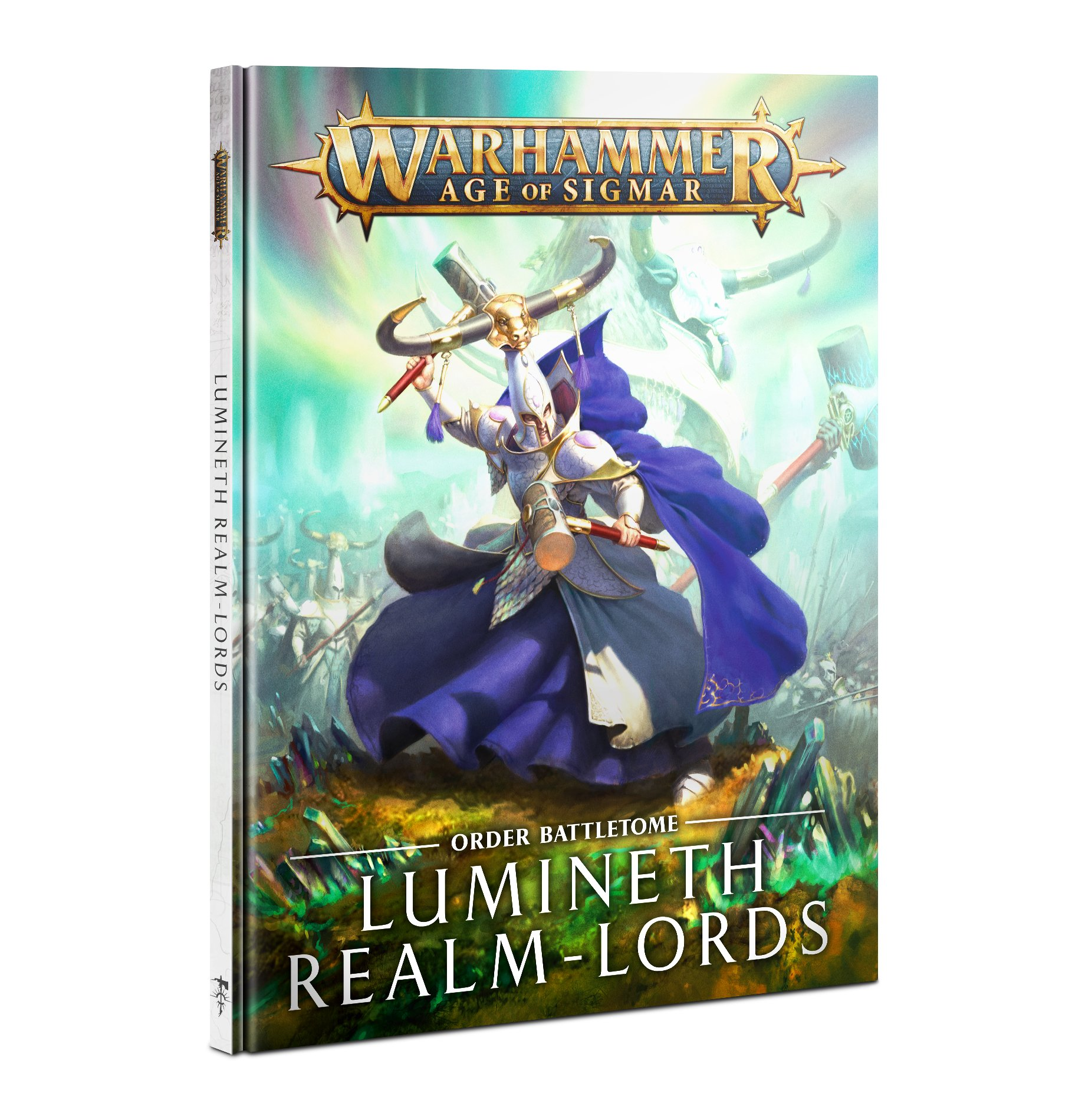 Warhammer Age of Sigmar: Battletome: Lumineth Realm-lords (HB)