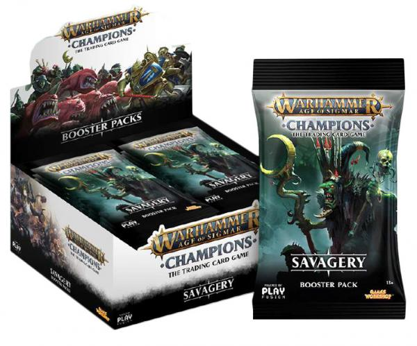 Warhammer Age of Sigmar Champions: Savagery (Wave 3) - Booster Pack