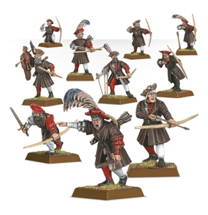 Warhammer Age of Sigmar: Free Peoples: Freeguild Archers (Empire Archers)