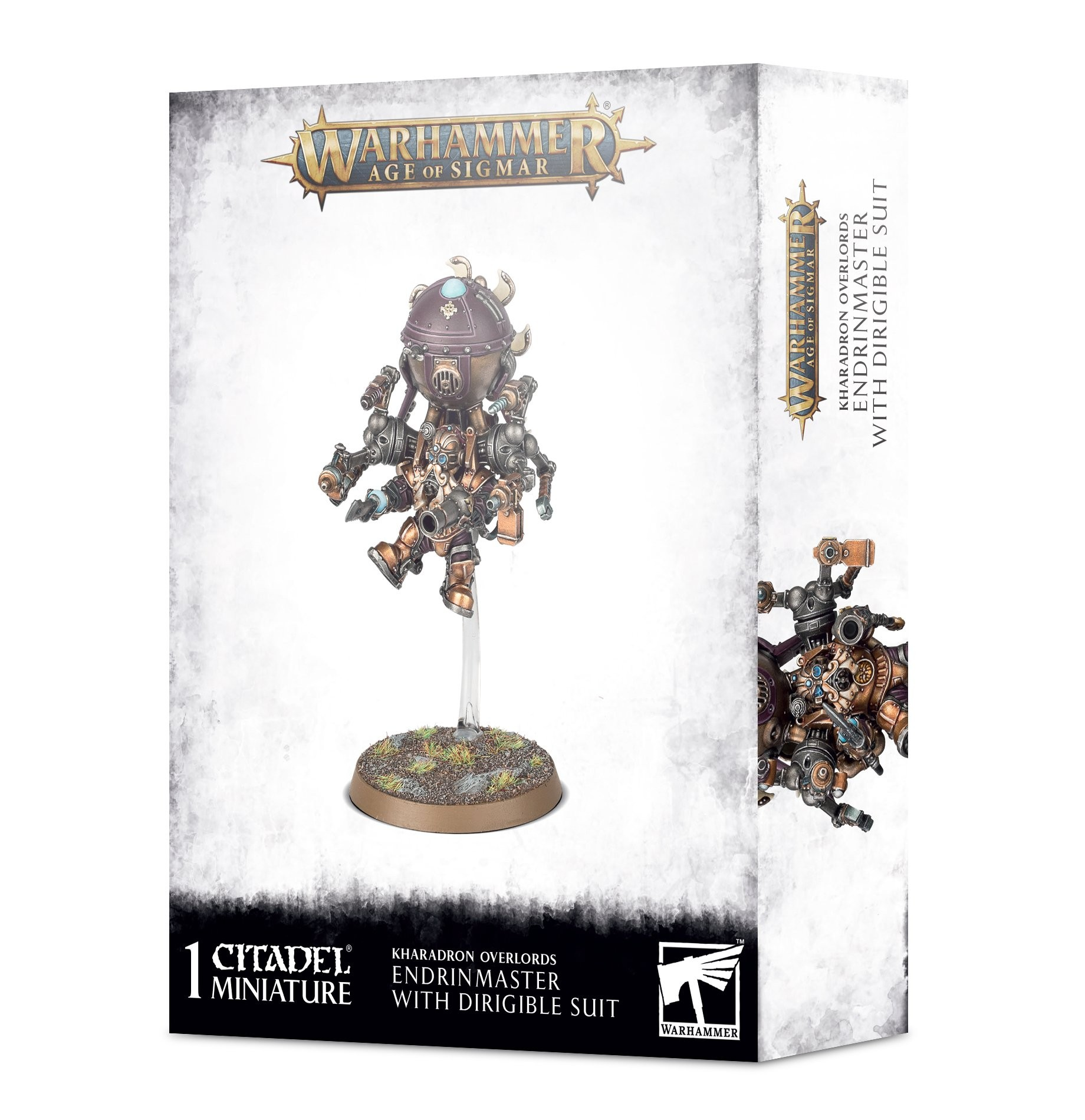 Warhammer Age of Sigmar: Kharadron Overlords Endrinmaster in Dirigible Suit
