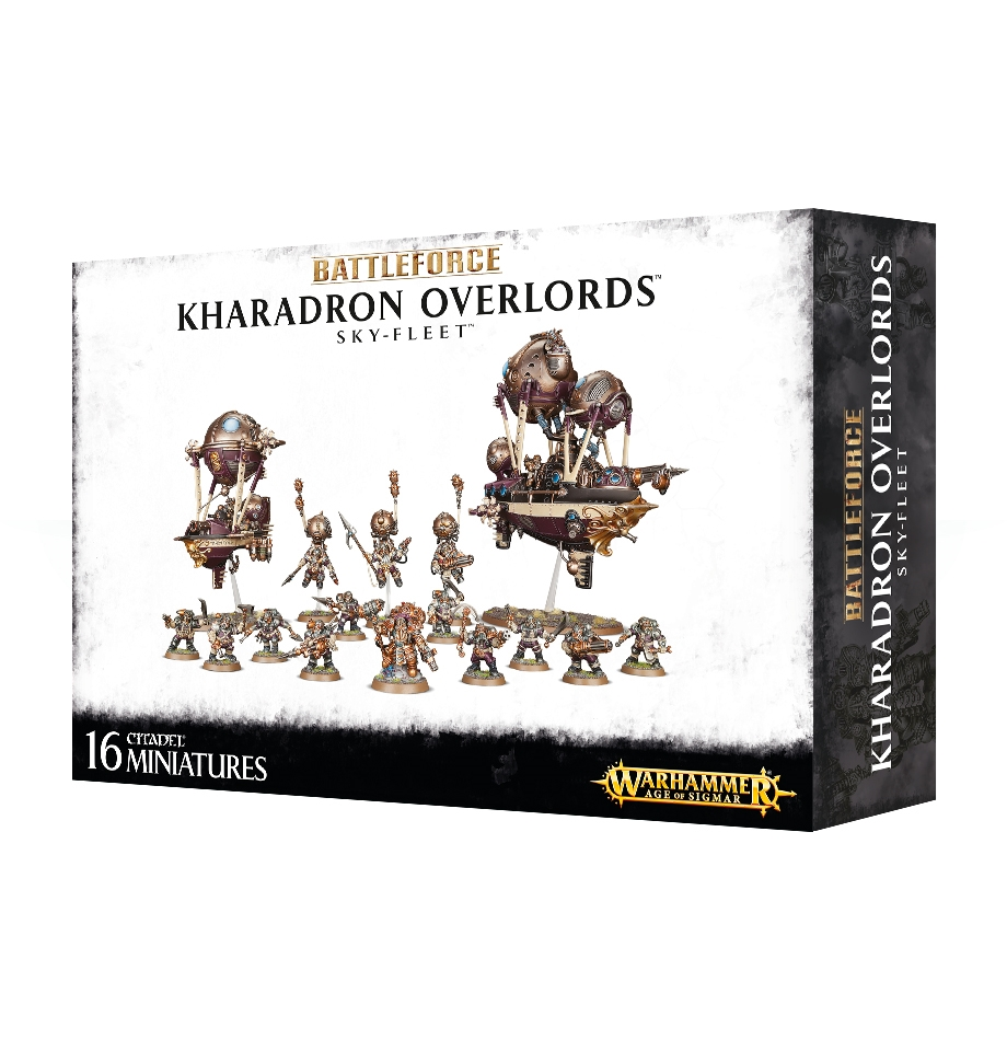 Warhammer Age of Sigmar: Battleforce: Kharadron Overlords Skyfleet