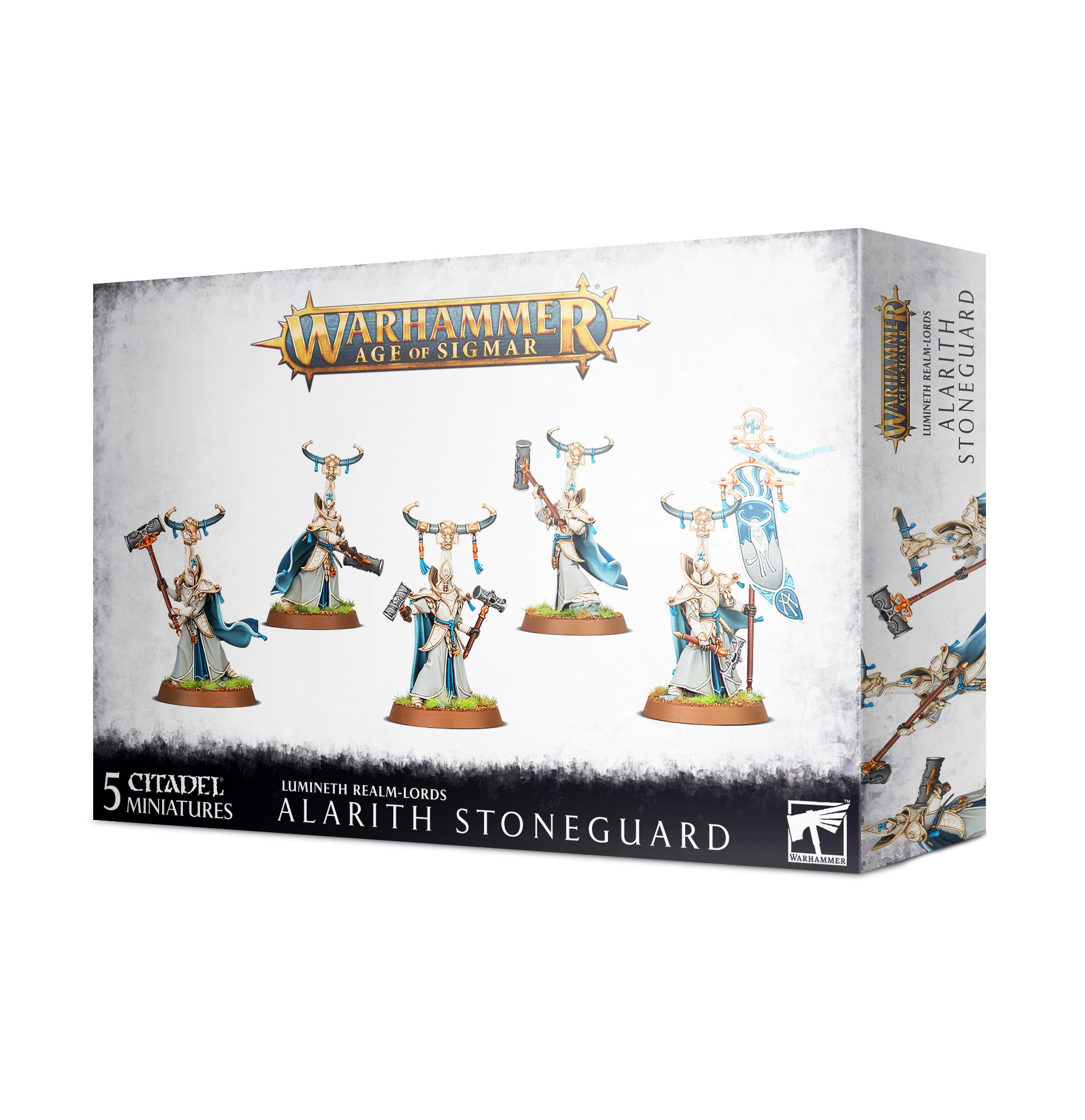 Warhammer Age of Sigmar: Lumineth Realm-lords: Alarith Stoneguard