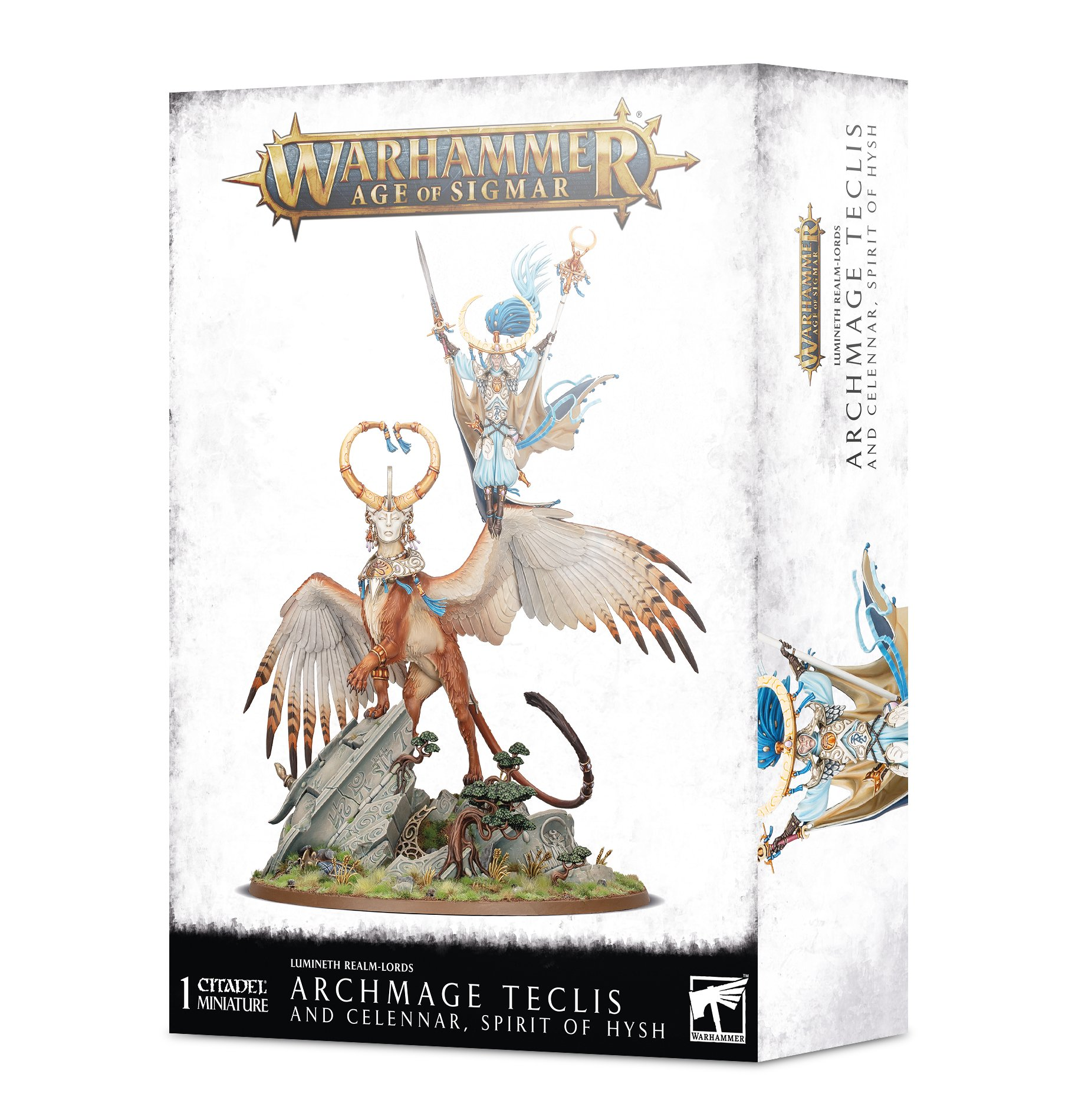 Warhammer Age of Sigmar: Lumineth Realm-lords: Archmage Teclis
